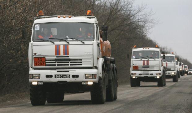 Россия направила на Донбасс автоколонны с горючим, которое бесследно исчезло