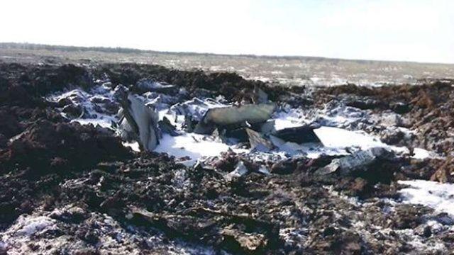 Катастрофа российского штурмовика под Волгоградом
