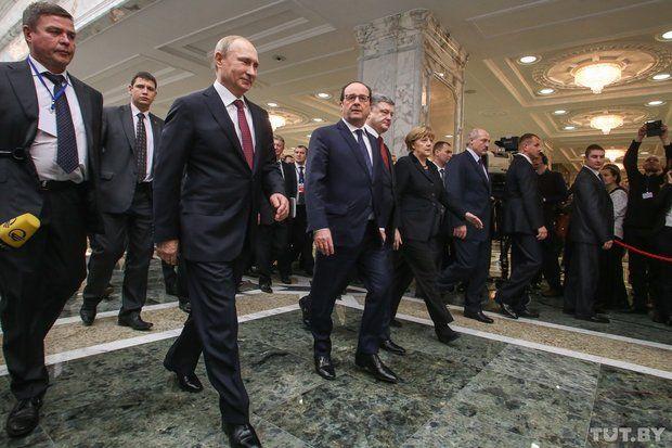 Переговоры в Минске, иллюстрация