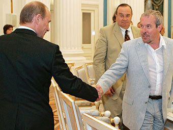 Андрей Макаревич и Владимир Путин