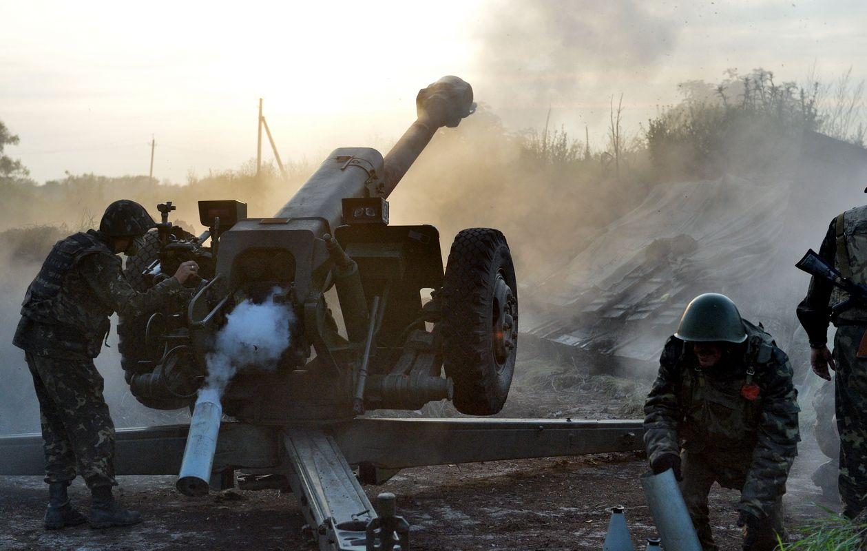 Работает артиллерия