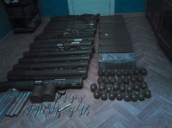 СБУ в Одессе изъяла беспрецедентный арсенал
