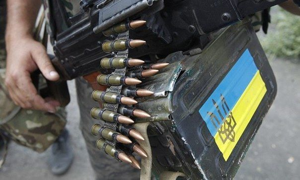 Силовик на Донбассе, иллюстрация