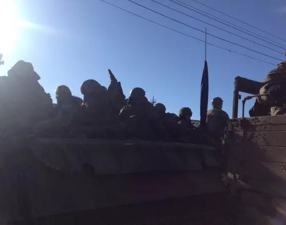 Вывод войск начался в 6 утра