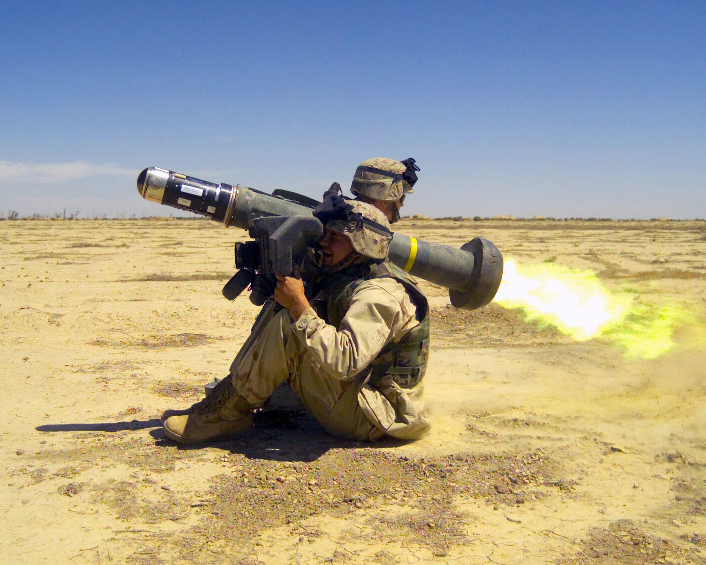 Javelin нет на линии соприкосновения на Донбассе