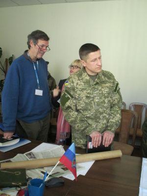 В штабе у боевиков ЛНР