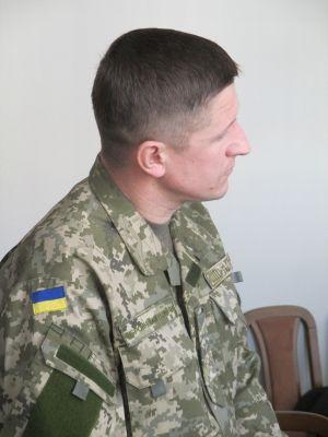 Представитель украинской стороны