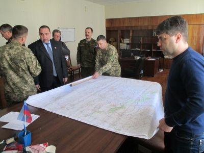 В штабе боевиков ЛНР