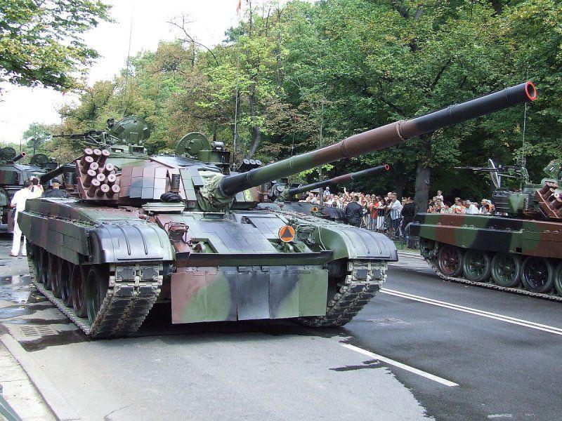 Модернизированный Т-72