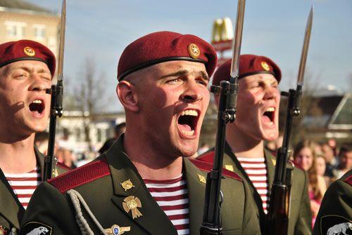 Бойцы дивизии Дзержинского