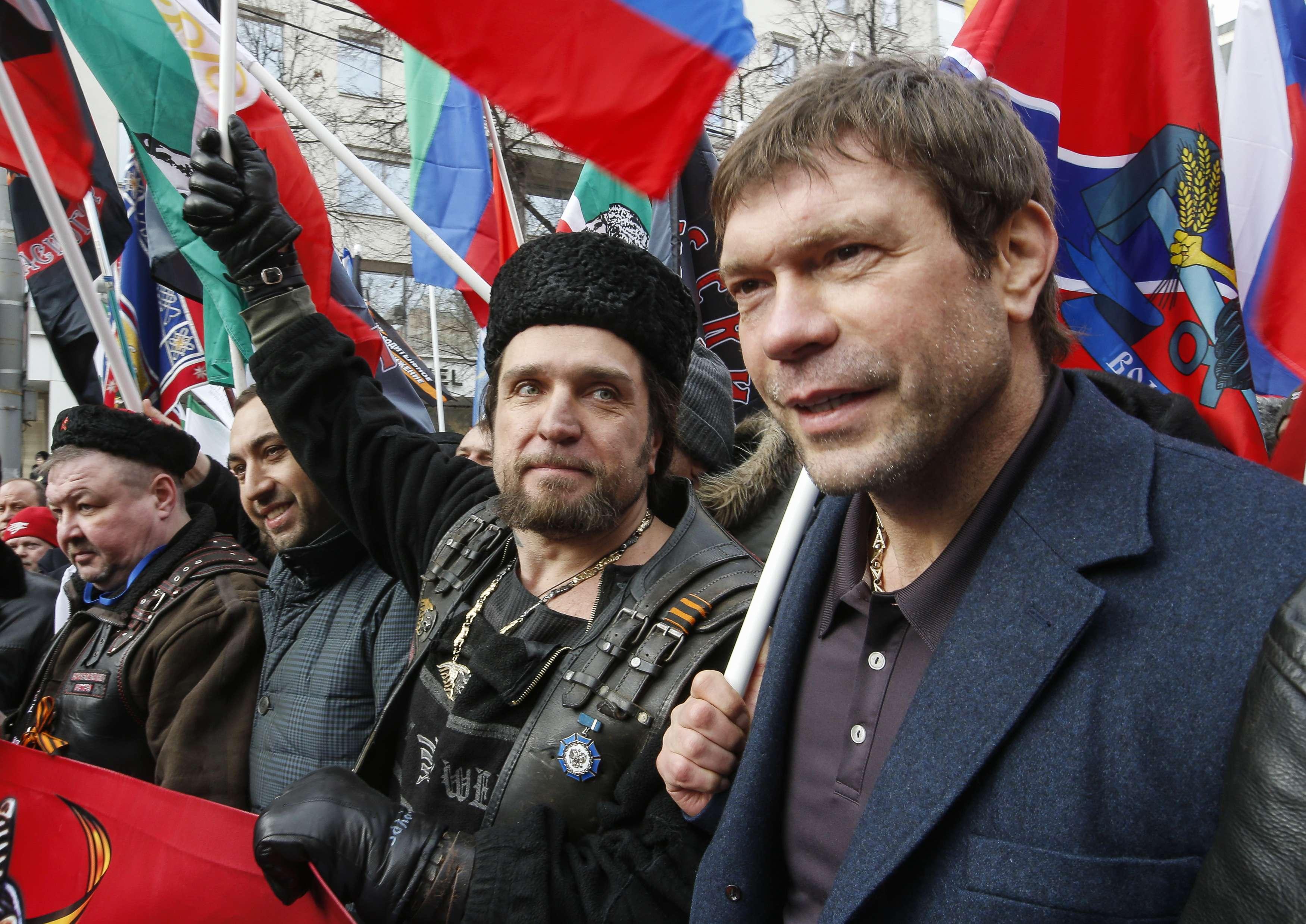 Олег Царев в Москве, иллюстрация