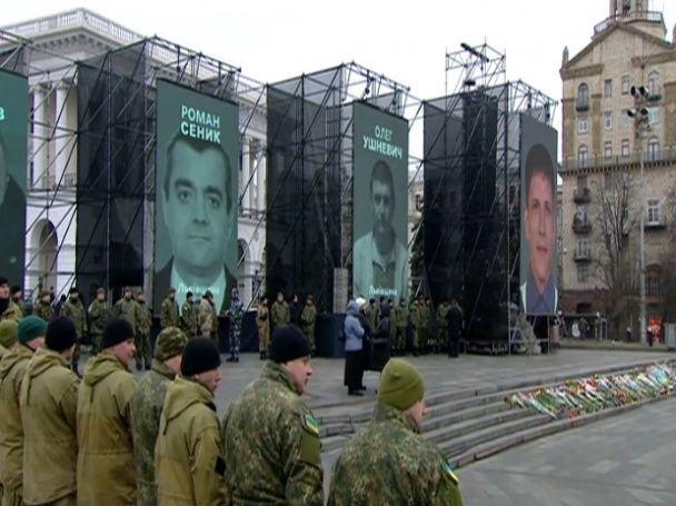 В Киеве провели молебен возле мемориала Небесной сотни: готовятся к Маршу достоинства