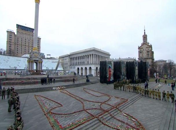 Киевский Майдан Независимости, иллюстрация