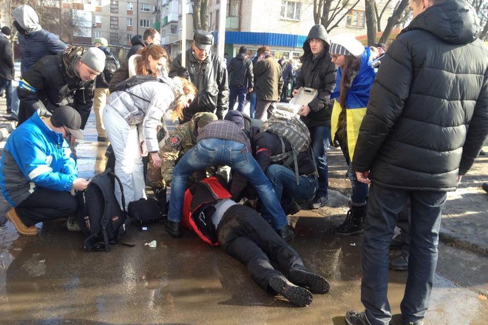 Взрыв в Харькове, иллюстрация