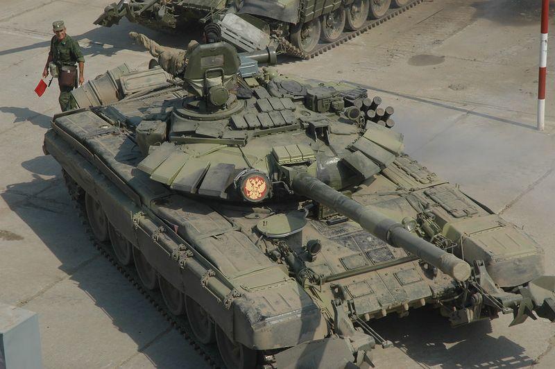 Российский Т-72Б(М), 18-я бригада, иллюстрация