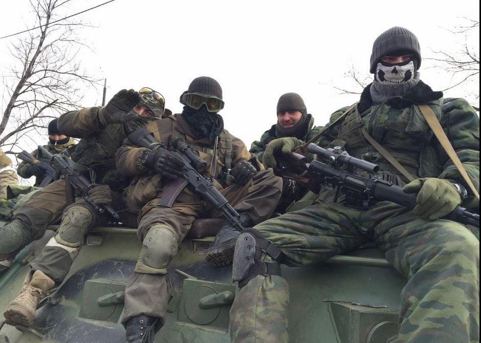 Боевики в Дебальцево, иллюстрация