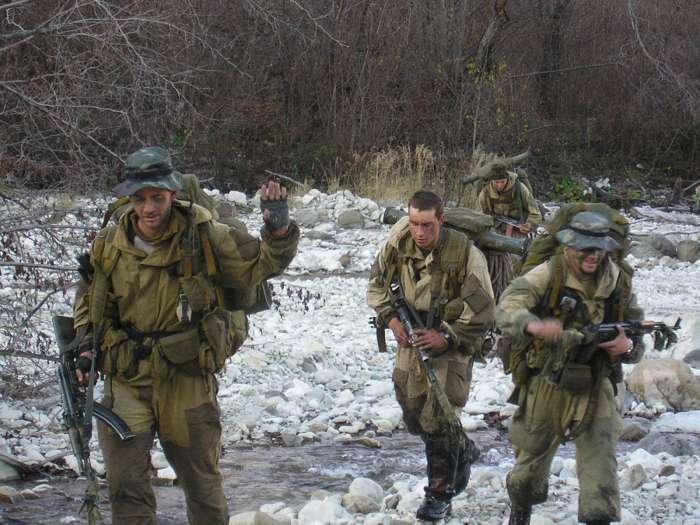 Российский спецназ, иллюстрация