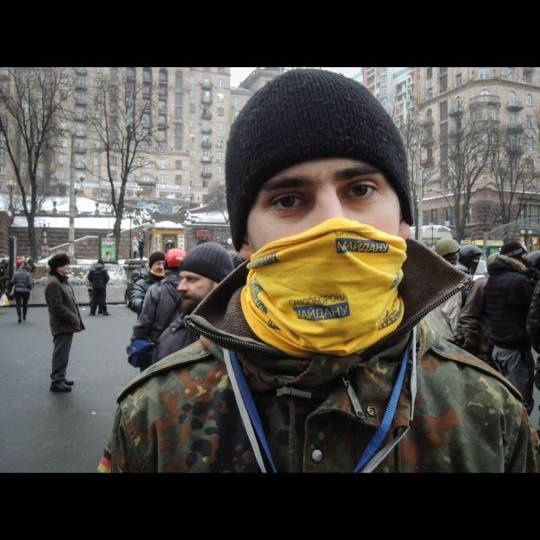 Евгений Дейдей на Майдане