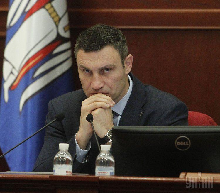 Мэр столицы Виталий Кличко.