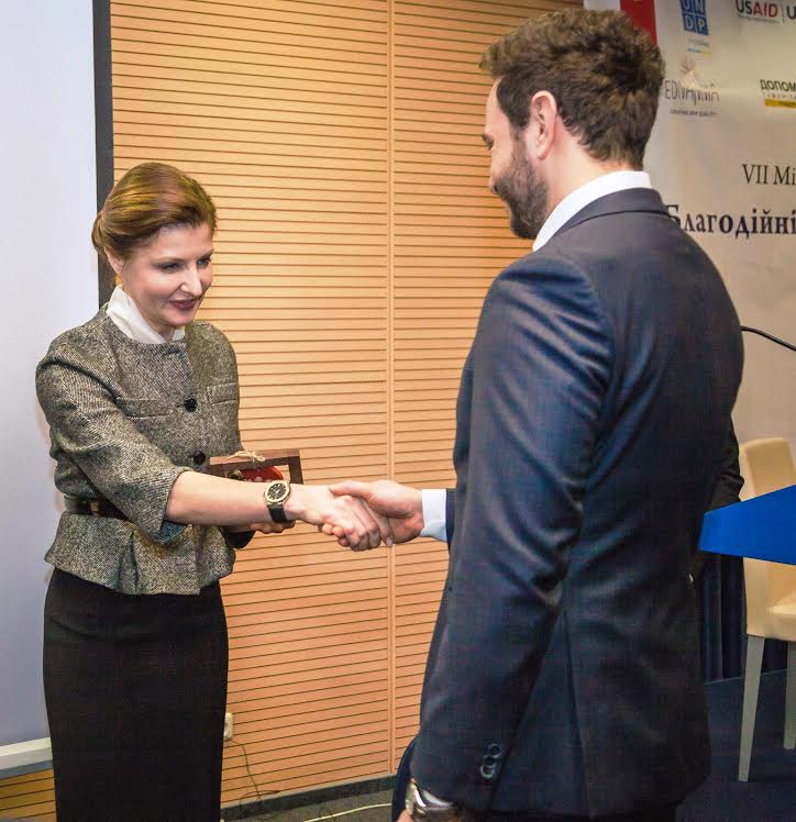 Марина Порошенко и Александр Дубинский