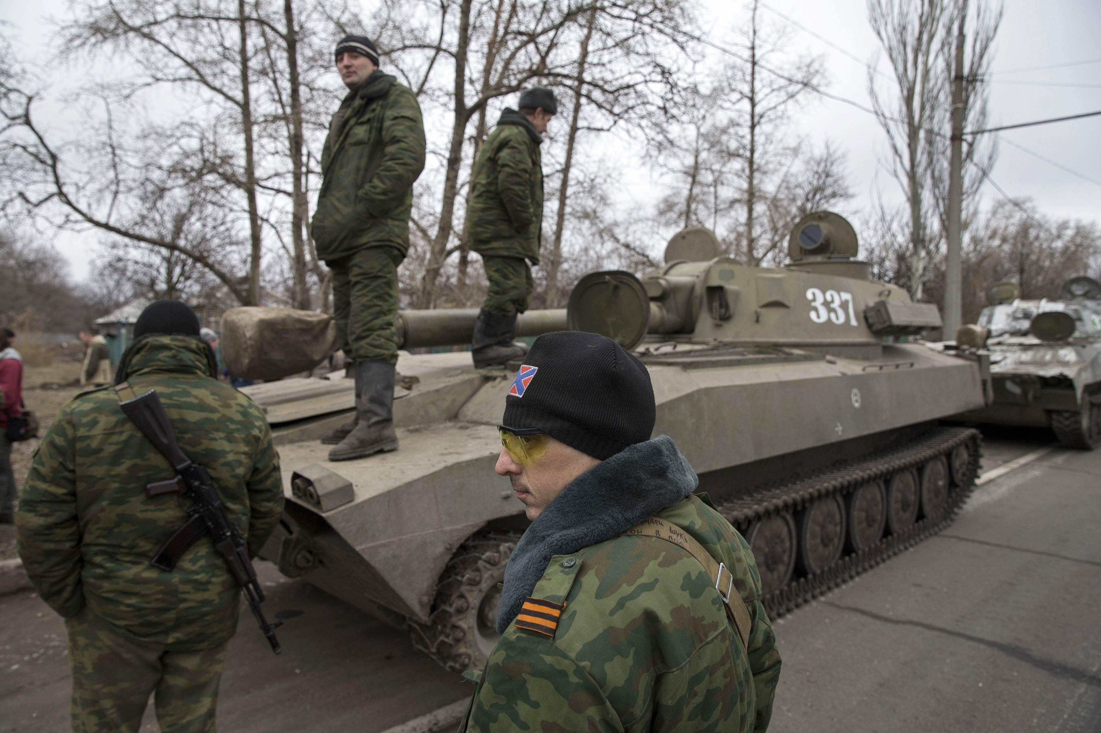 Боевики ДНР под Донецком