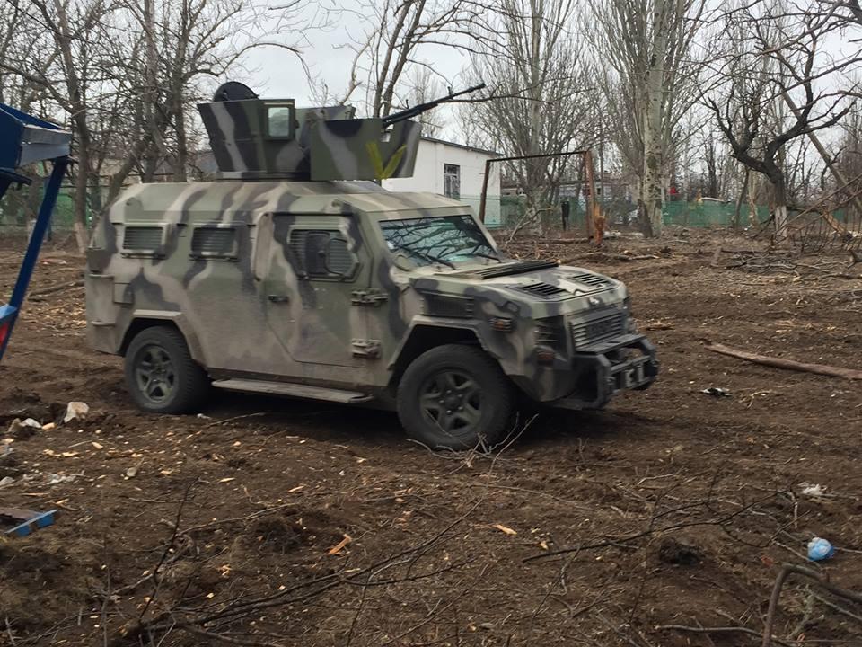 Шкиряк рассказал, как боевики «кошмарят» под Мариуполем