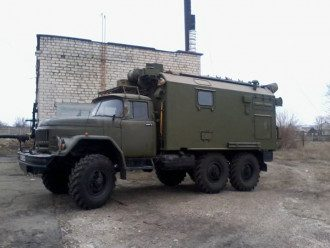 Бойцы АТО захватили военную машину боевиков