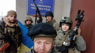 Бойцы полка