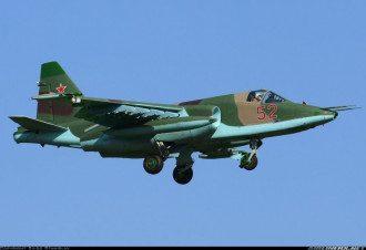Штурмовик Су-25  ВВС РФ, иллюстрация