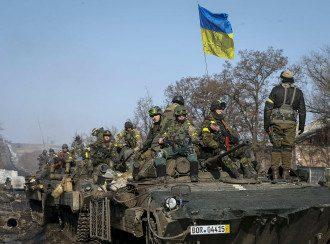 Украинские войска передислоцировались в районе Крымского перешейка