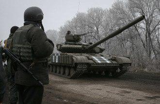 Украинские войска под Дебальцево, иллюстрация