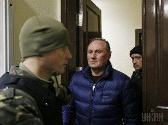 Ефремов в Печерском суде, иллюстрация
