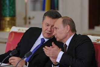 Виктора Янукович и Владимир Путин