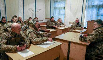Порошенко доложили о потерях украинских войск в боях за Дебальцево