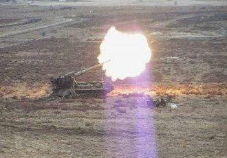 Украинская артиллерия в зоне АТО, иллюстрация