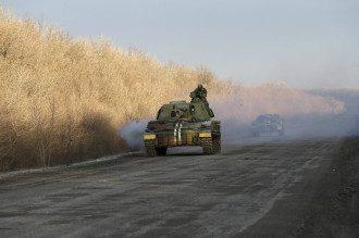 Вывод украинских войск из Дебальцево