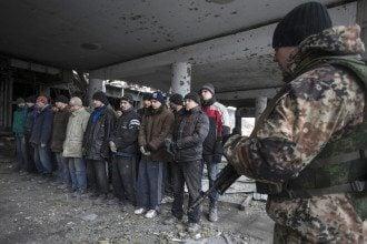 Пленные украинцы на Донбассе, иллюстрация