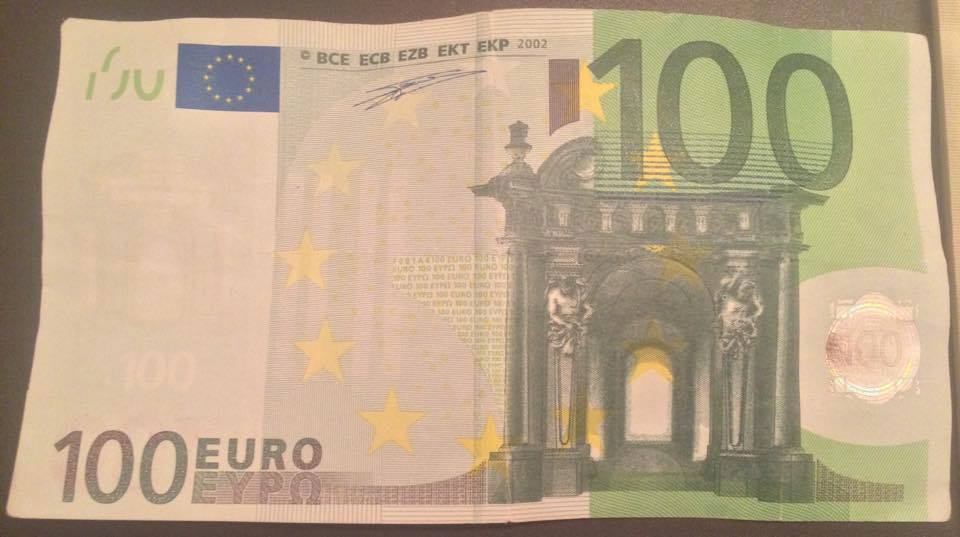 Фальшивые евро боевиков
