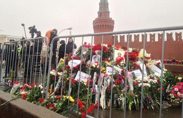 Акция памяти Немцова