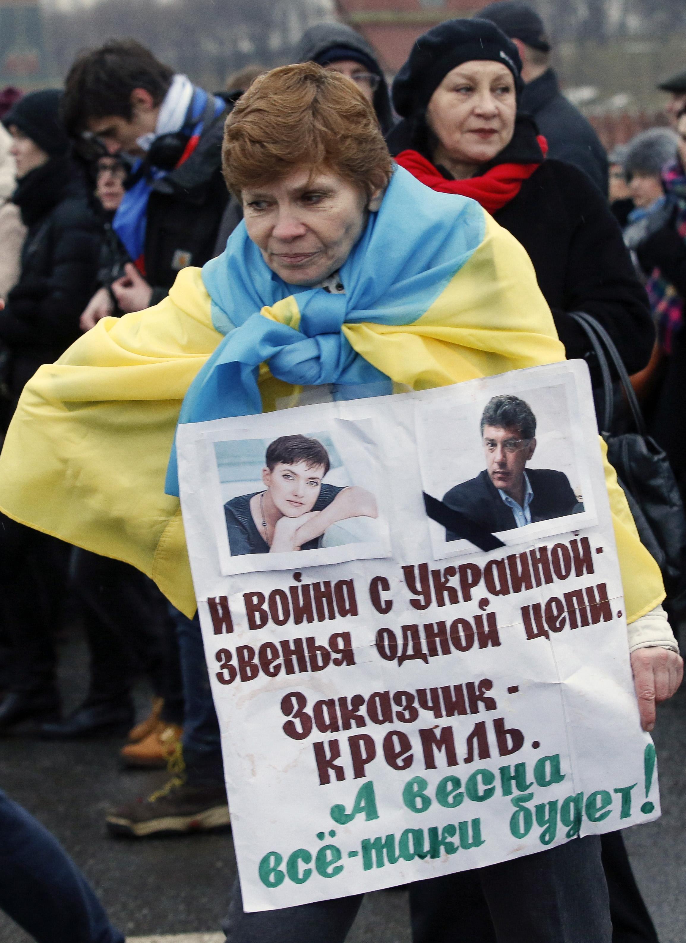 Марш памяти Немцова, иллюстрация