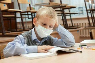 школа, ученик, грипп
