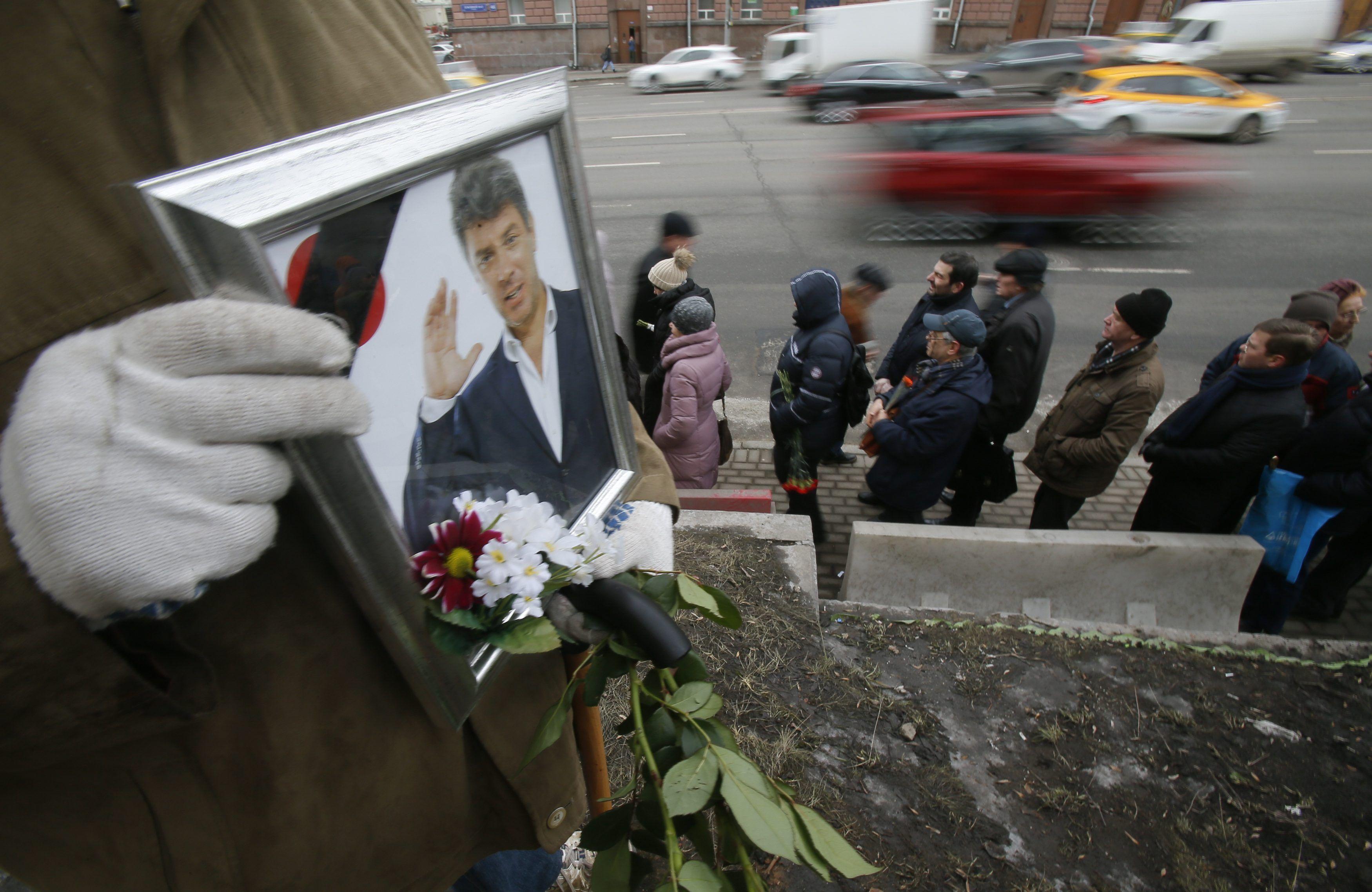 Похороны Немцова, иллюстрация