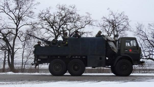 Боевики пошли в прорыв под Широкино