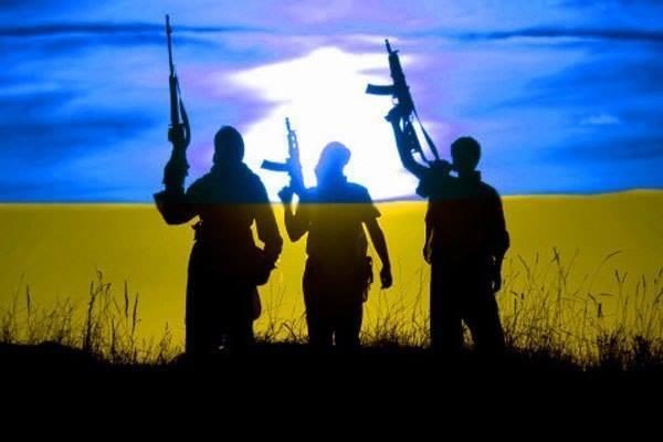 Партизаны на Донбассе, иллюстрация