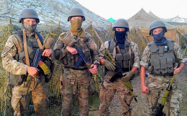 Бойцы 8-го полка спецназа, иллюстрация