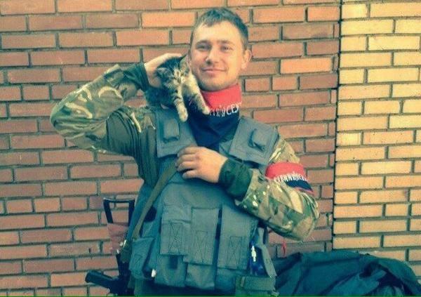 Илья Богданов на передовой