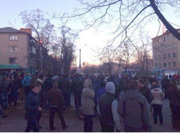 В Константиновке: милиция локализовала беспорядки
