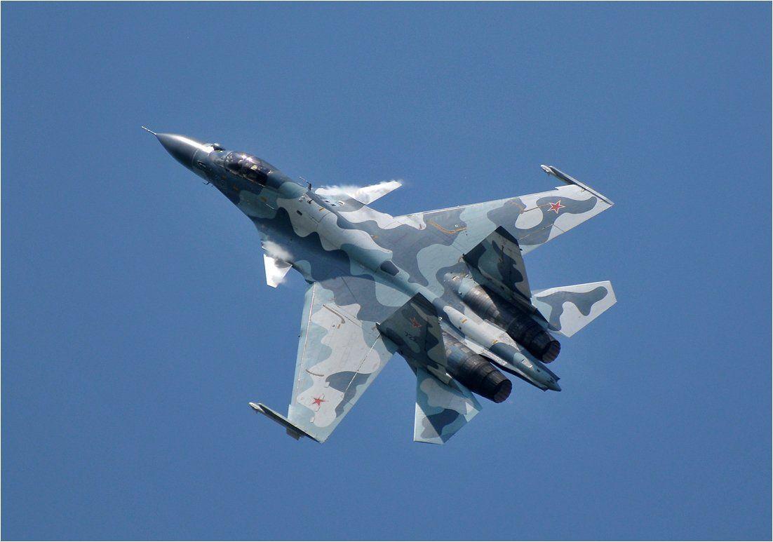 Самолет РФ -Су-27, иллюстрация
