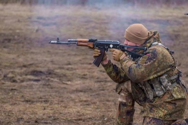 В батальоне