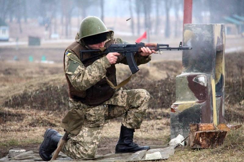 Учения украинских бойцов